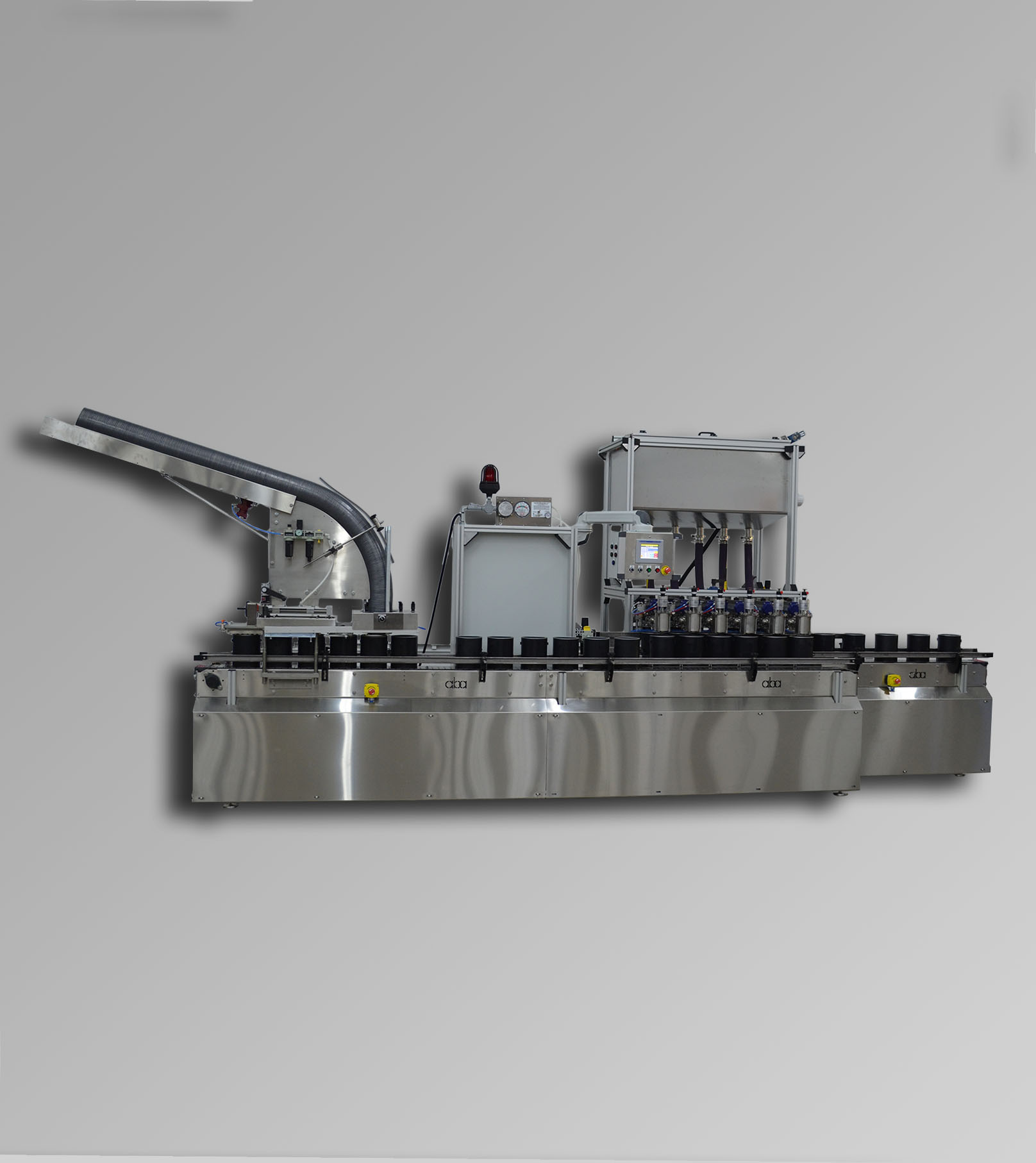ABA-M363 Top Fill, Net Weight C1D2 Liquid Filling Machine