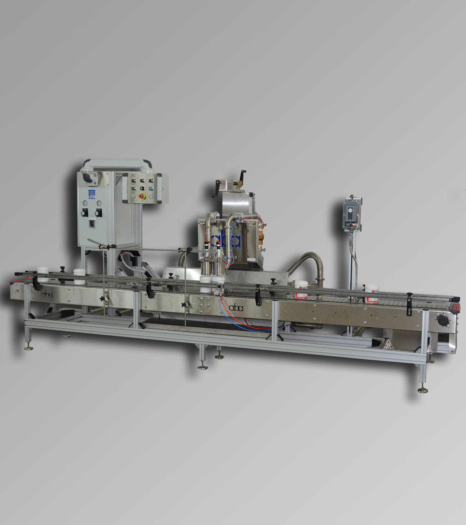 ABA-M367 2 head pneumatic filling machine