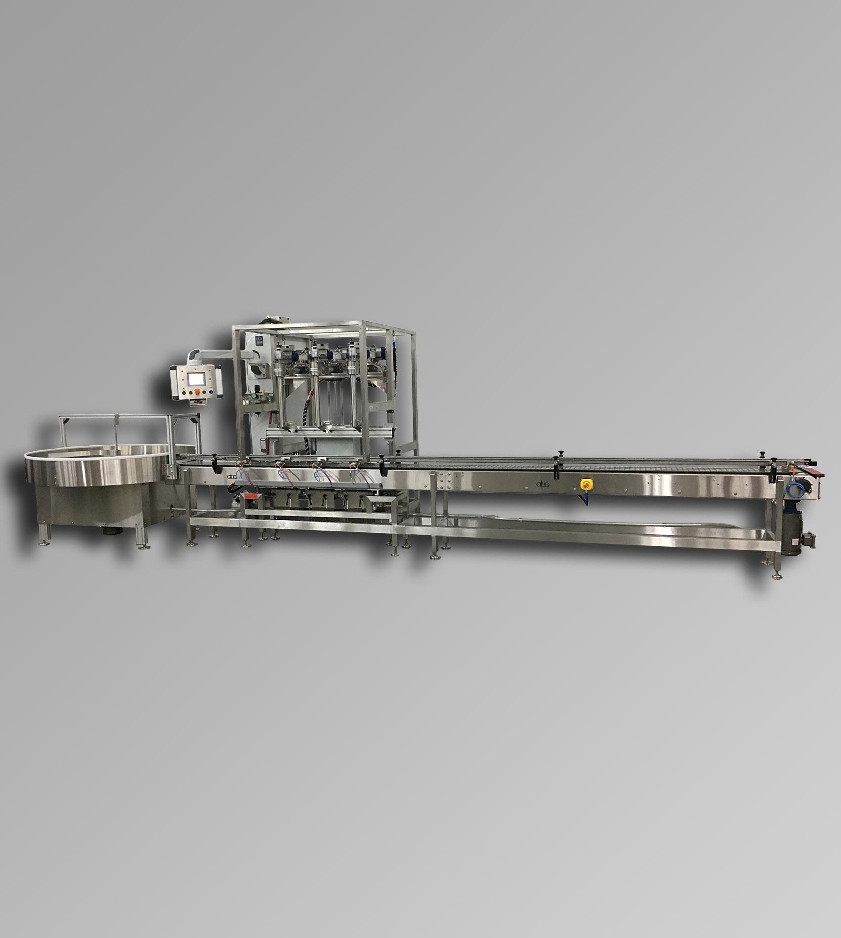 Blog - ABA-M400 - Top & Bottom Fill, Net Weight C1D1