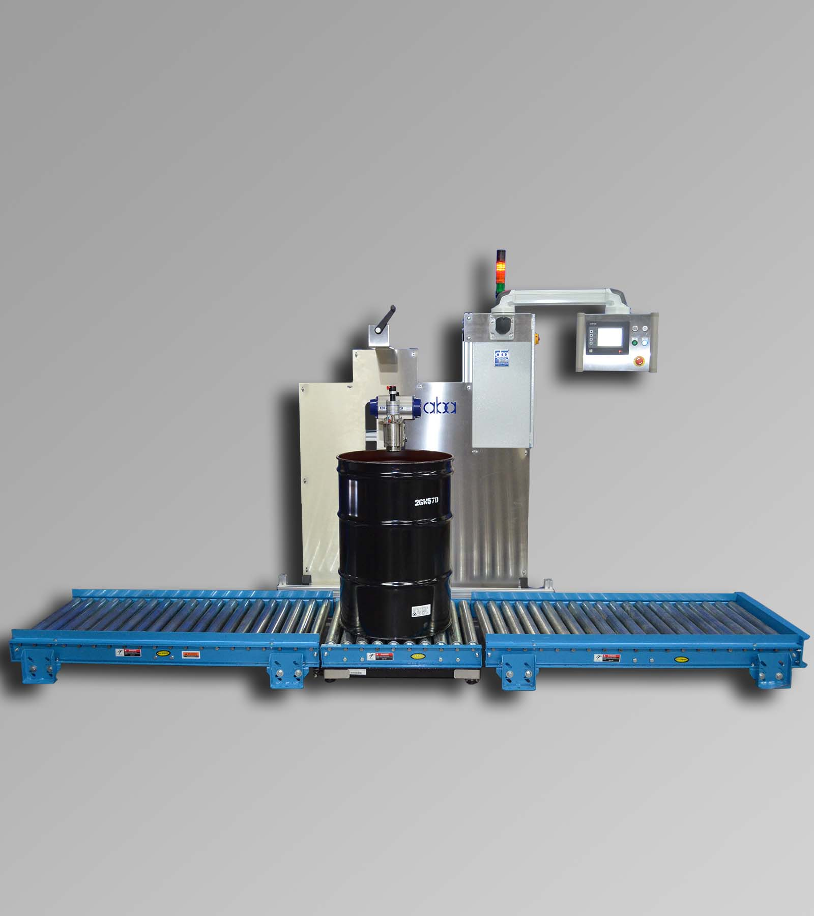 ABA-M335 - Semi-automatic drum filling machine