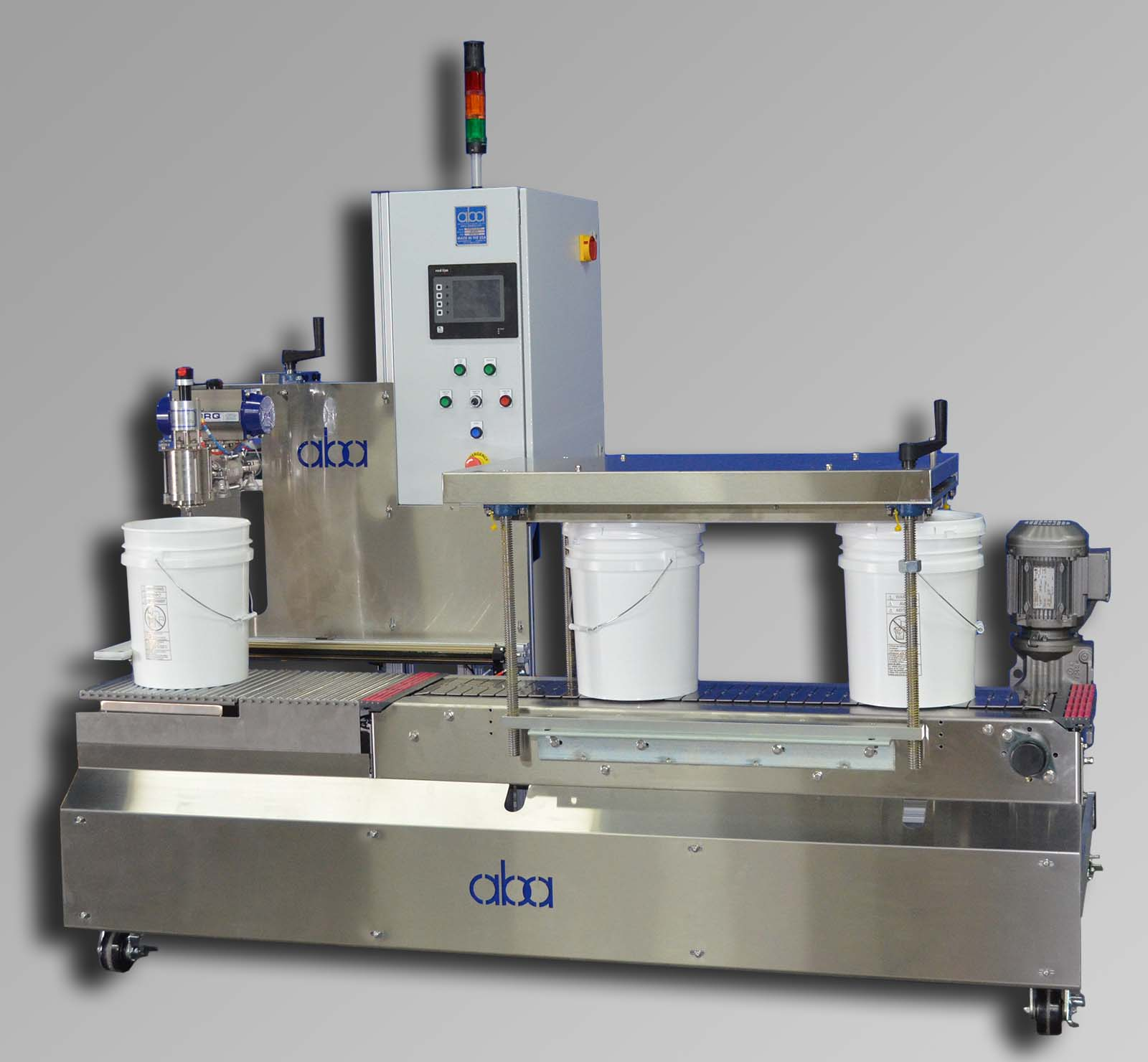 ABA-M336 semi automatic net weight machine