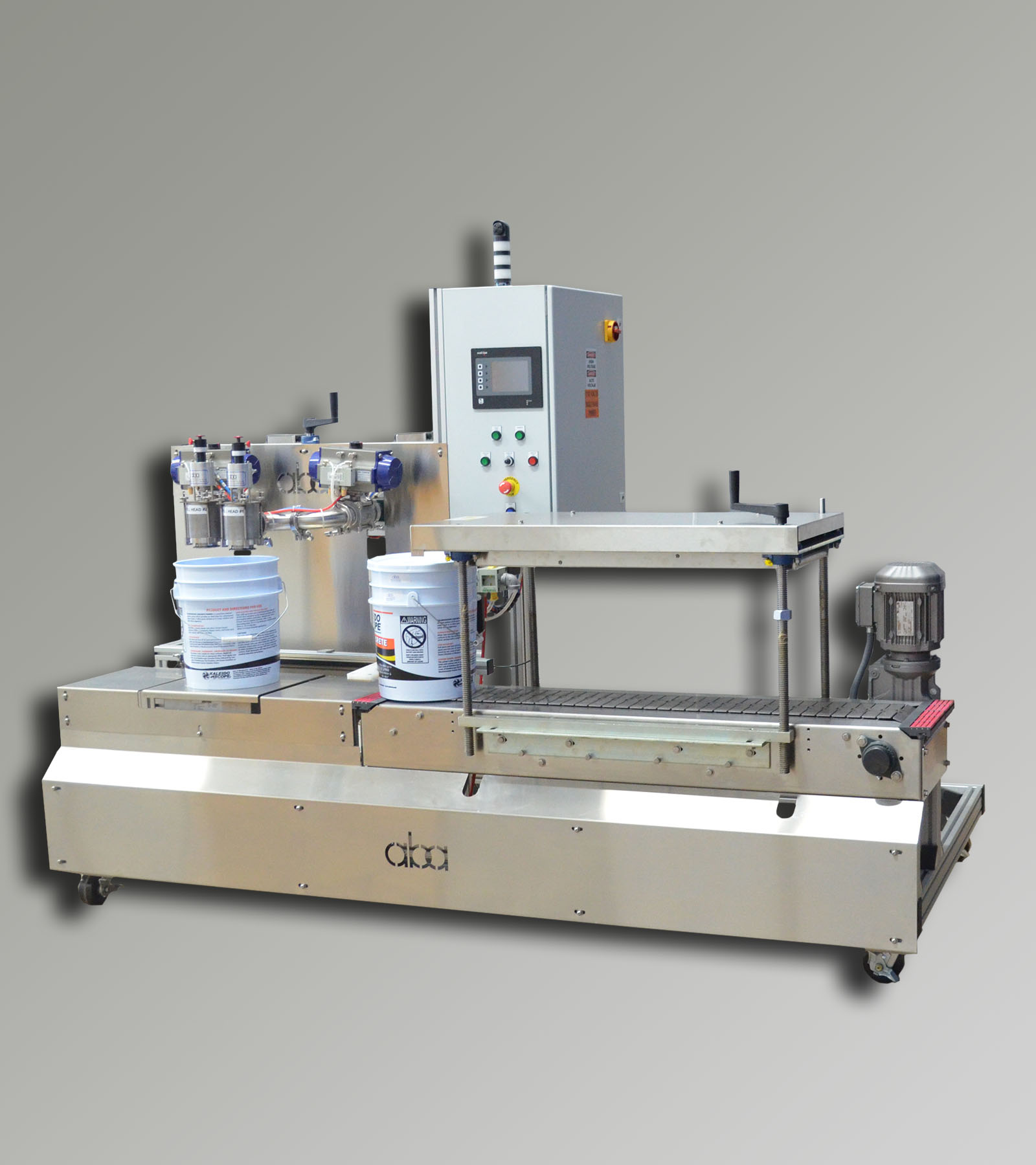 ABA-M356 - Semi-Automatic Net Weight Filling Machine