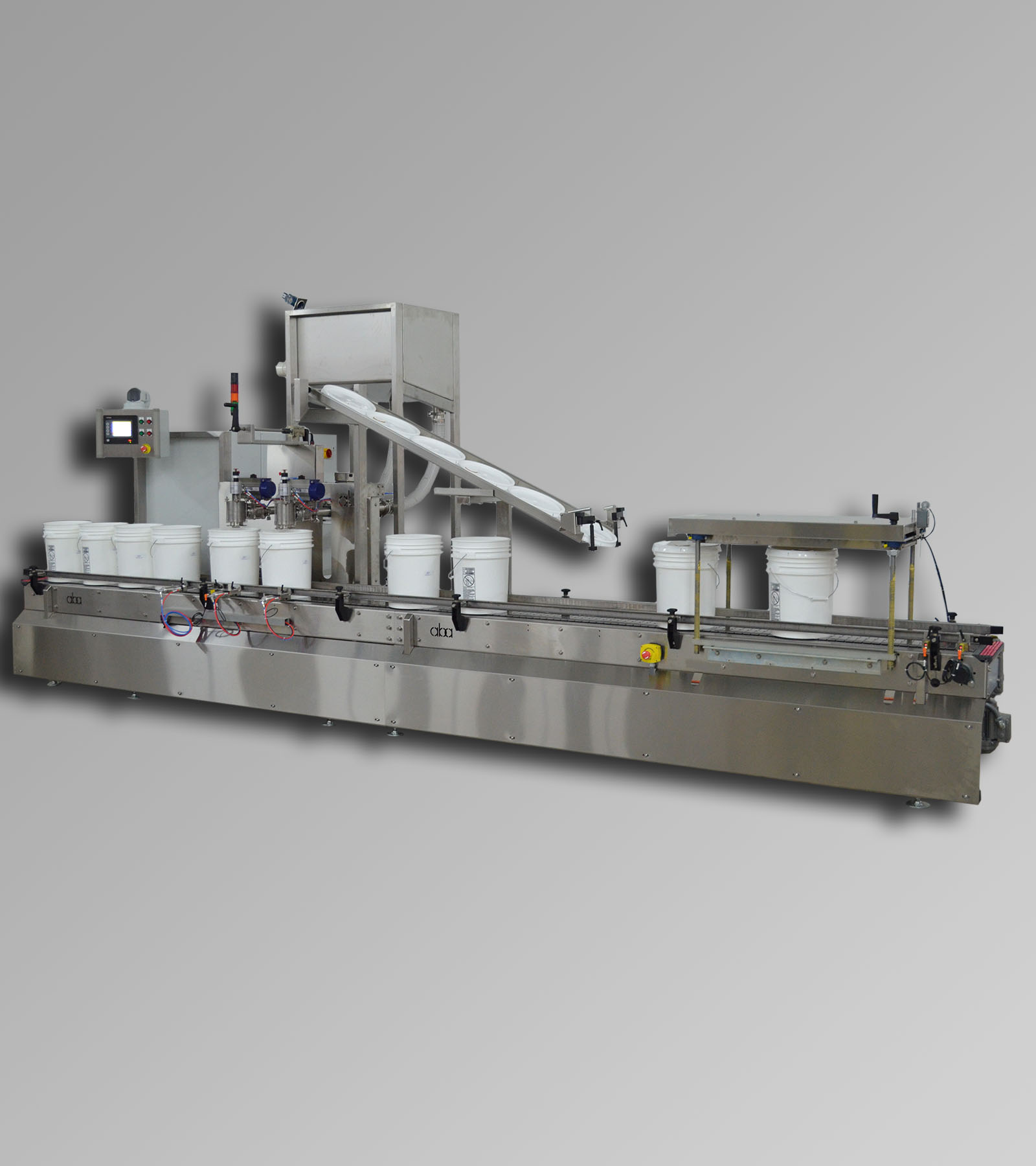 ABA-M358 - top fill, net weight filling machine