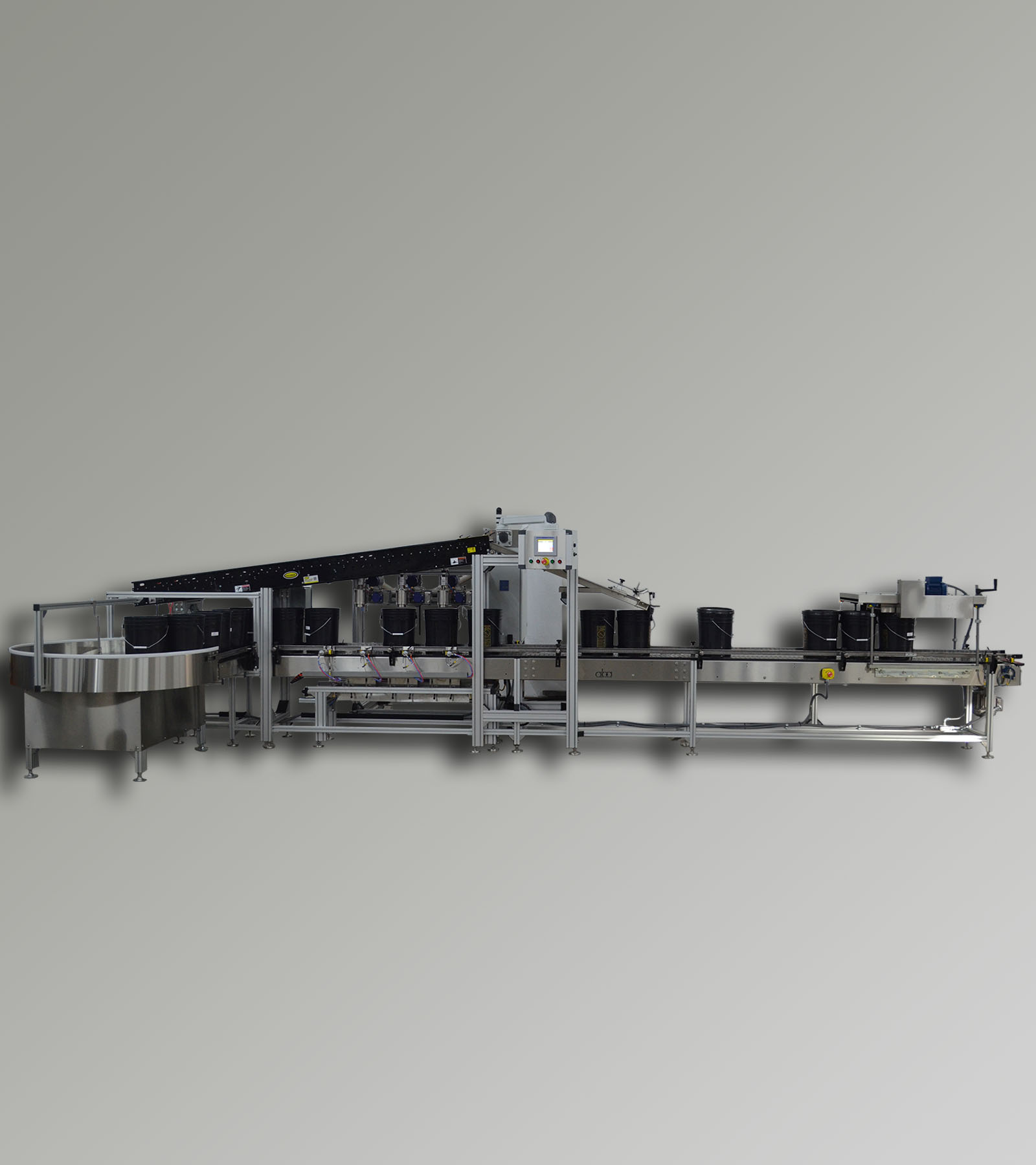 ABA-M380 - Top Fill Net Weight Liquid Filling Machine