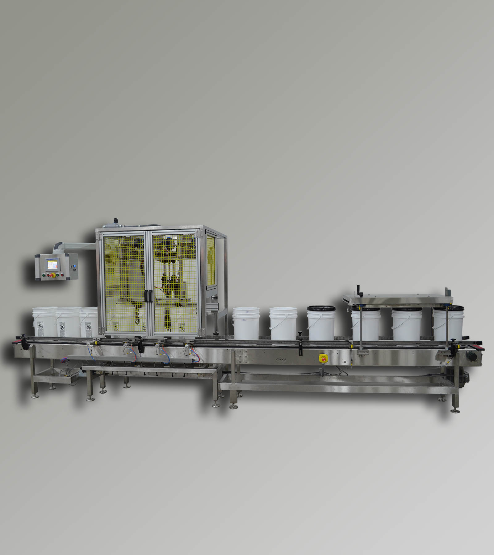 ABA-M383 - Bottom Fill, Net Weight Filling Machine