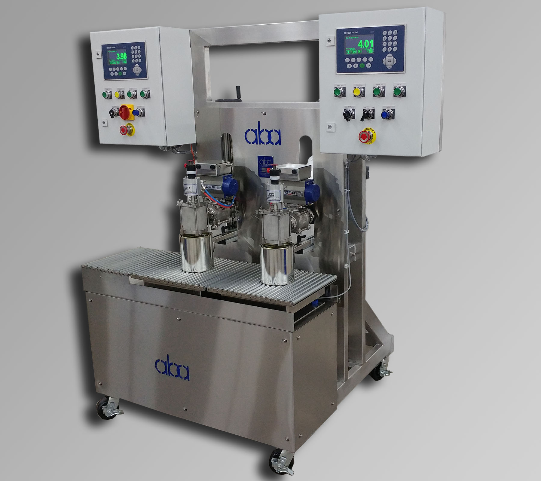 ABA-M437 - semi automatic filling machine