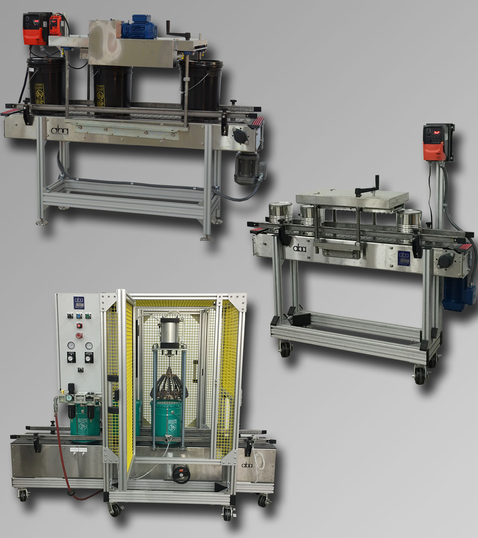 Lid Closers - Presses and Crimpers