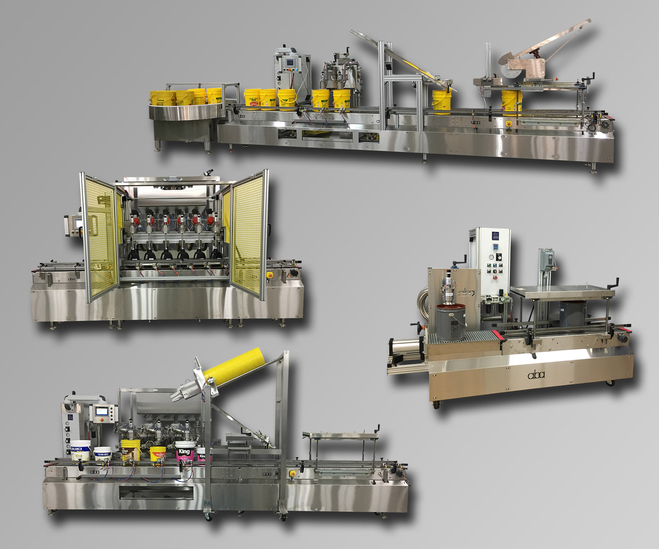 Multiple ABA Liquid Filling Machines