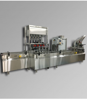 Explosion Proof Net Weight Liquid Filling Machine M424