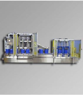 Explosion Proof Net Weight Liquid & Paint Filling Machine M325