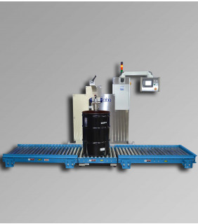 Paint & Liquid Net Weight Drum Filling Machine - M335