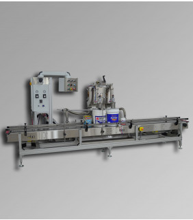 Paint & Liquid Volumetric Filling Machine M364