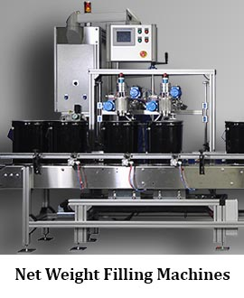 Net Weight Filling Machine