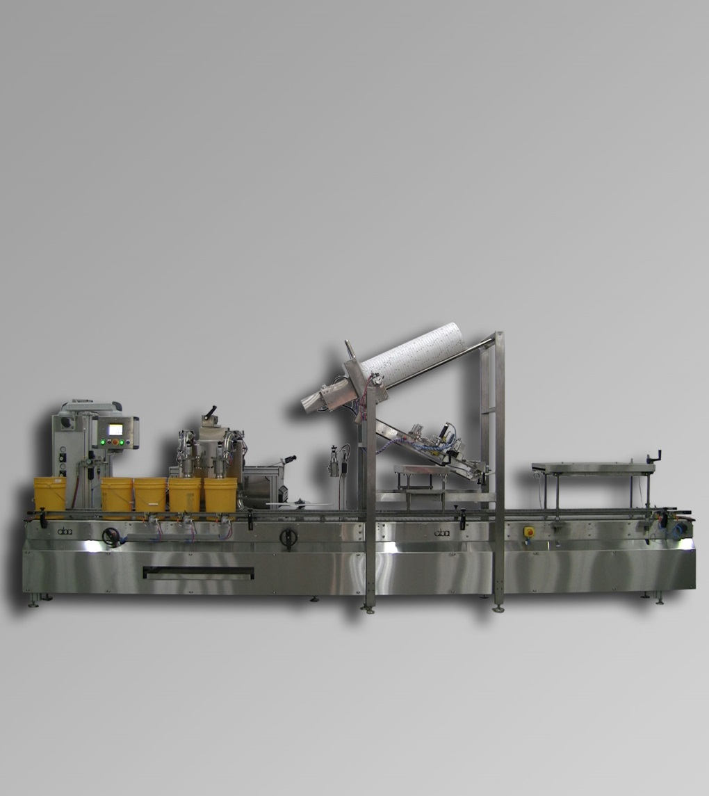 ABA-M425 - Pail filling equipment